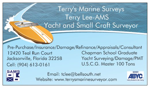 marine survey template - business cards jax fl images card design and card template